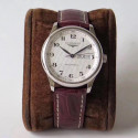 Replica Longines Master Day-Date L2.755.4.78.3 KZ Stainless Steel Silver Dial Swiss L636