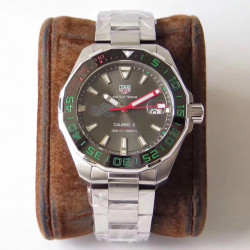 Replica Tag Heuer Aquaracer Calibre 5 CSL WAY201E.BA0927 GS Stainless Steel Anthracite Dial Swiss SW200