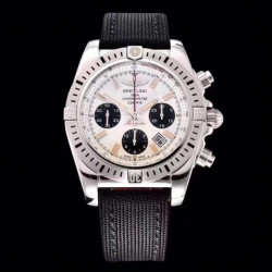 Replica Breitling Chronomat 44 airbone 30th Anniversary AB0115 GF Stainless Steel White Dial Swiss 7750