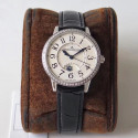 Replica Jaeger-LeCoultre Ladies Rendez-Vous Night & Day 3448430 34MM ZF Stainless Steel & Diamonds White Dial Swiss 898A/1