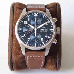Replica IWC Pilot Chronograph Edition Le Petit Prince IW377714 ZF Stainless Steel Blue Dial Swiss 7750