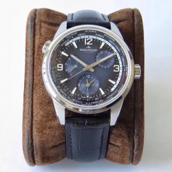 Replica Jaeger-LeCoultre Polaris Geographic WT 904847J N Stainless Steel Blue Dial Swiss Caliber 936A/1