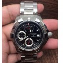 Replica Longines Hidroconquest Chronograph Stainless Steel Black Dial Swiss 7750