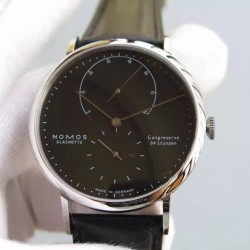 Replica Nomos Lambda Stainless Steel Black Dial German DUW 1001