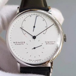 Replica Nomos Lambda Stainless Steel White Dial German DUW 1001
