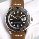 Replica Rolex Yacht-Master 40 116655 BP Stainless Steel Black Dial Swiss 2836-2