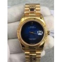 Replica Rolex Datejust 41 Lapis Lazuli Yellow Gold Blue Dial Swiss 3255