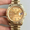 Replica Rolex Day-Date 40 228238 40MM KW Yellow Gold Champagne Dial Swiss 3255