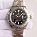 Replica Rolex Yacht-Master 40 116622 JF Stainless Steel Black Dial Swiss 2836-2