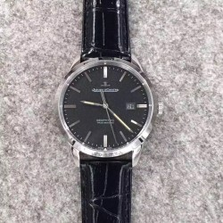 Replica Jaeger-LeCoultre Geophysic True Second 8018420 N Stainless Steel Black Dial Swiss Calibre 770