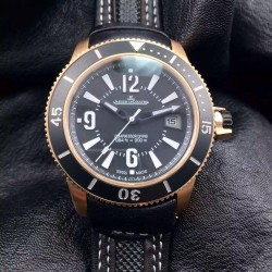 Replica Jaeger-LeCoultre Master Compressor Navy Seals Q2018670 Limited Edition N Rose Gold Black Dial Swiss 2836-2