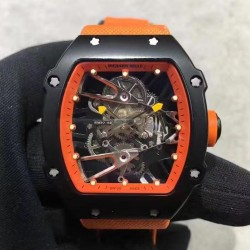 Replica Richard Mille RM27-02 PVD Orange & Skeleton Dial M9015