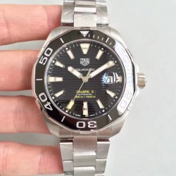 Replica Tag Heuer Aquaracer Calibre 5 WAY201A.BA0927 MK Stainless Steel Black Dial Swiss 2824-2