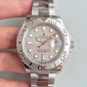 Replica Rolex Yacht-Master 40 116622 EW Stainless Steel Grey Dial Swiss 3135
