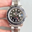 Replica Rolex Yacht-Master 40 116622 EW Stainless Steel Black Dial Swiss 3135