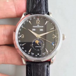 Replica Jaeger-LeCoultre Master Calendar 1558420 BF Stainless Steel Black Dial Swiss Caliber 866/1