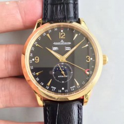 Replica Jaeger-LeCoultre Master Calendar 1552520 BF Yellow Gold Black Dial Swiss Caliber 866/1
